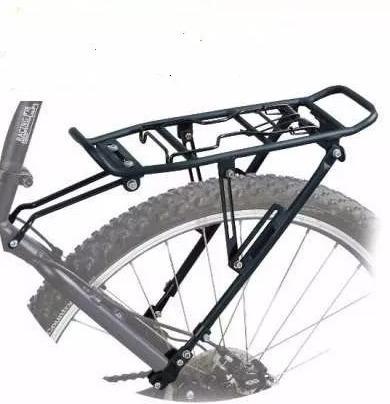 portaequipaje bicicleta apto freno disco rod. 26-29 regulabl