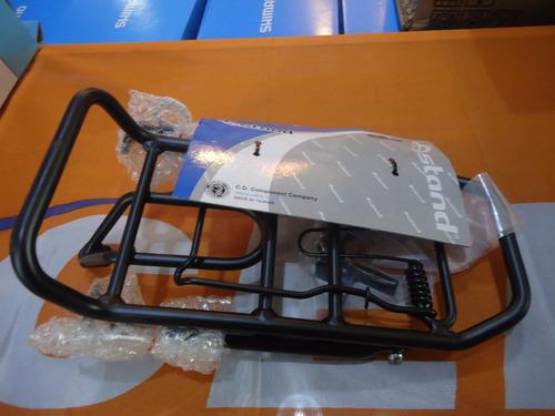 portaequipaje bicicleta ostand cd-220 delantero regulable aluminio - racer bikes