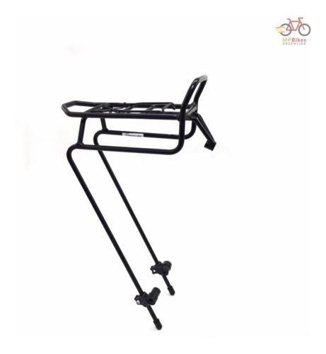 portaequipaje delantero reforzado p/ bicicleta ostand m 241