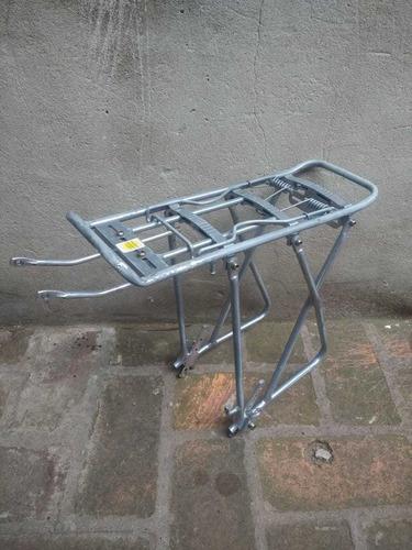 portaequipajes bicicleta aluminio