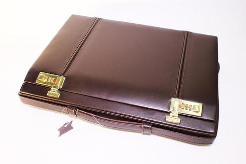 portafolio caja con asa, tamaño chico