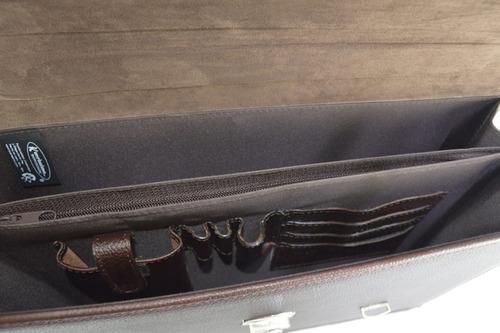 portafolio  malek tamaño carta  maletín de piel