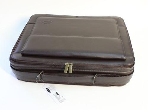 portafolio pc-pr chico de piel  kuerissimo  para laptop