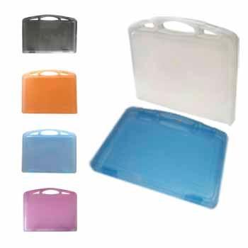 portafolio plástico