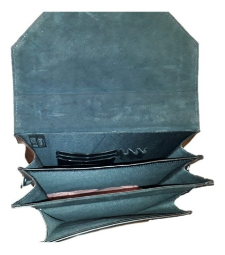 portafolio vertical tamaño oficio de piel