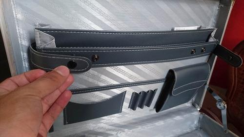 portafolios ejecutivos de aluminio reforzado con combinación