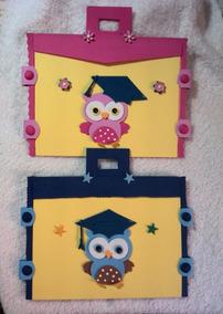 Portafolios Graduación Promoción Preescolar En Foami