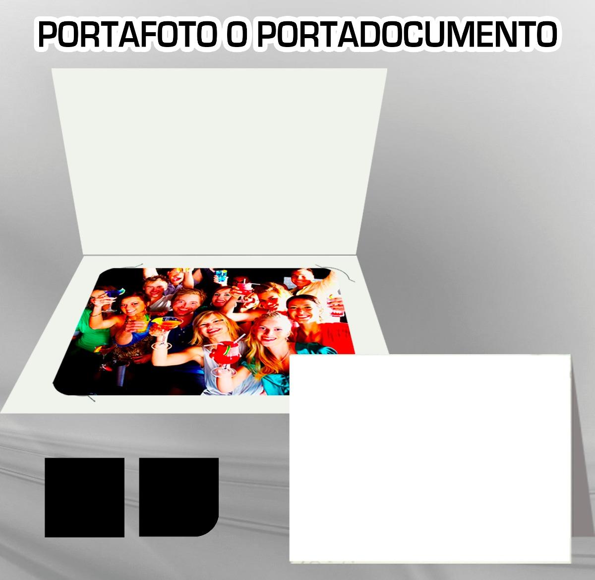 Portafoto 6x8, 6x9, 5x7, 4x Cartulina Sbs 12 Pts - $ 2.80 en Mercado ...