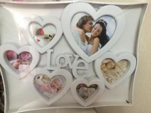 portafotos corazon nuevo en caja el marco puro corazones