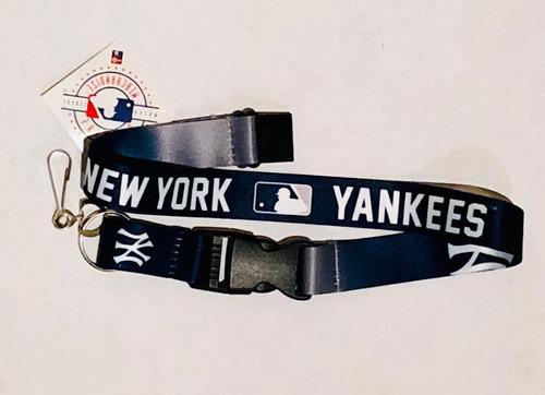 portagafetes new york yankees, producto oficial mlb