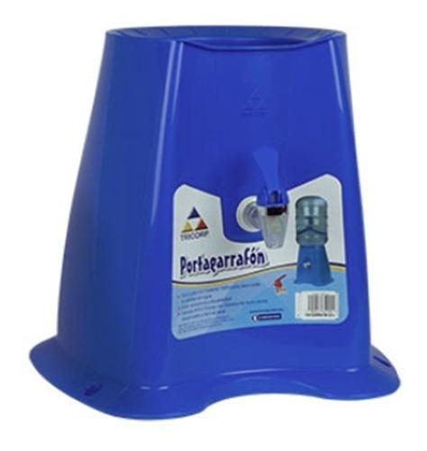 portagarrafón azul/ base para garrafón de plástico para agua