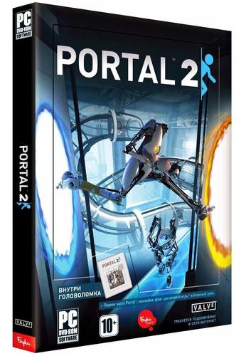 portal 2 - pc dvd - mídia física - frete 8 reais