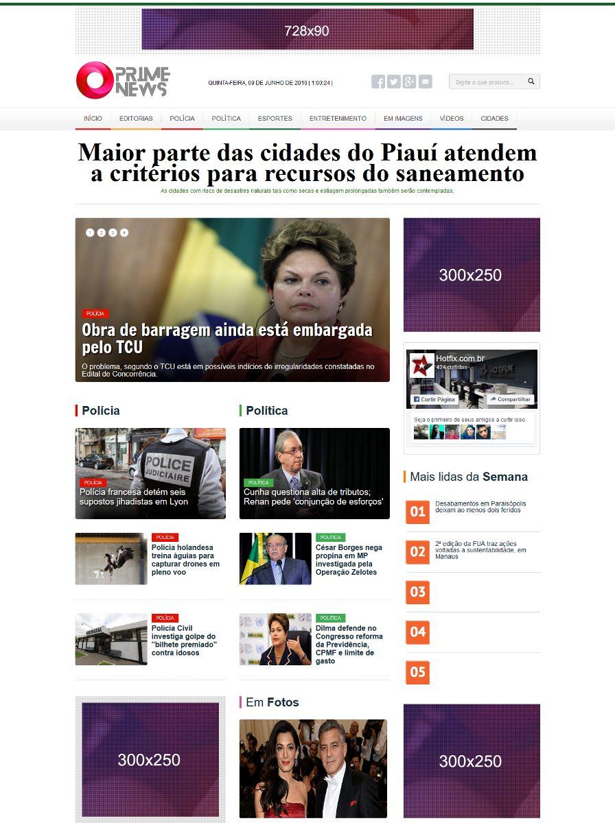 98526e83e4 portal de noticia 2016 administrável php profissional. Carregando zoom.