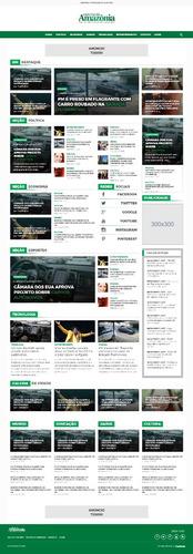 portal de notícias 2018 + hospedagem (mensal)