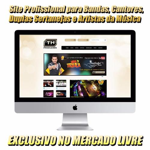 portal profissional para bandas, duplas, cantores e artistas