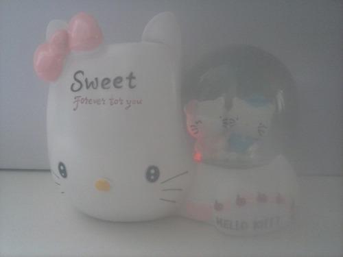 portalapicero con luces  de hello kitty!
