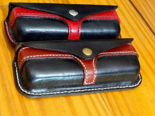 portalentes de cuero hechos a mano