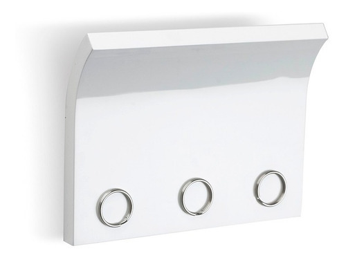 portallaves magnético magnetter blanco deco morph