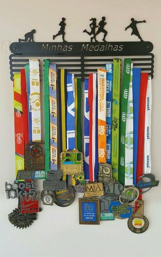 portamedalhas corrida 100 medalhas aço ncm
