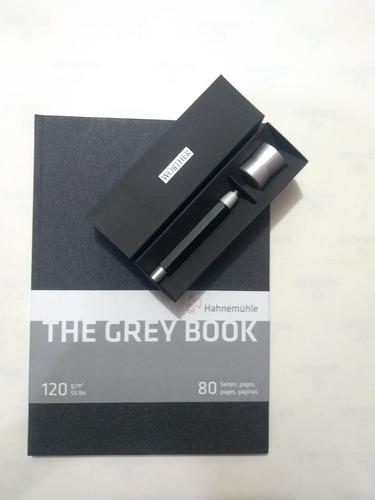 portamina worther compact 5.6 black + bl alemao grey book a4