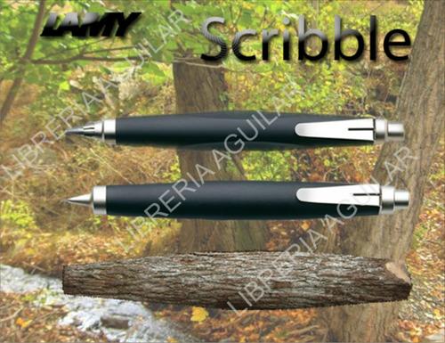 portaminas lamy scribble con mina 0,7 ó 3,15 mm garabato