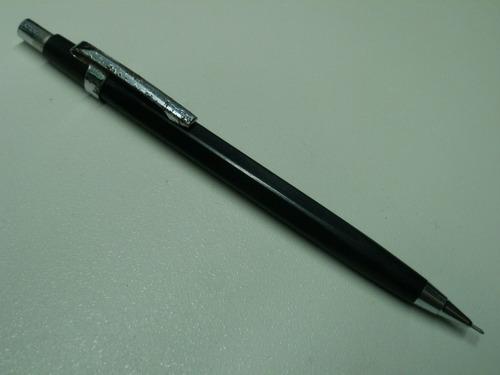 portaminas lapiz mecanico pilot 0.5 negro original japon