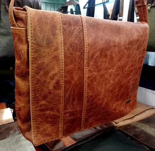 portanotebok - portafolio cuero de vaca