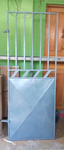 portao de ferro novo medida 80 x 2.00 altura