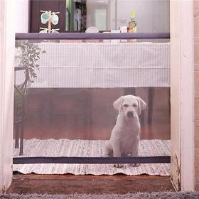 Portão Grade De Porta Cachorros Pet Magic Dog Gate Cães 110