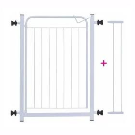 Portão Para Cachorros Grade De Proteção P/ Portas + Extensor