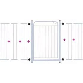 Portão Para Cachorros Grade De Proteção P/ Portas 1,40cm