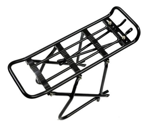 portapaquete aluminio negro - plegables rodado 20
