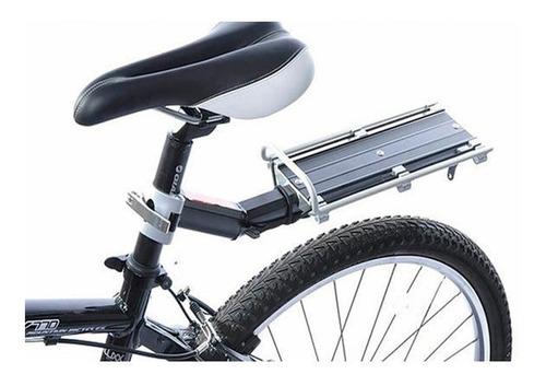 portapaquete bicicleta flotante al portasilla