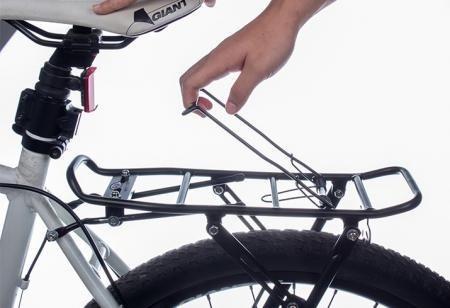 portapaquete de aluminio rodado 20 al 29 p/frenos a disco