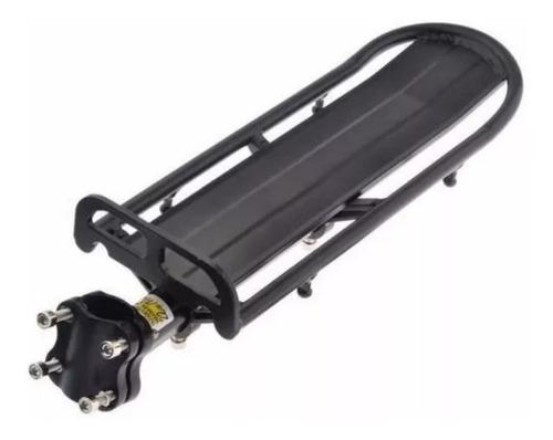 portapaquete flotante bicicleta aluminio