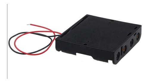 portapila 3 aa porta pila triple con cables arduino