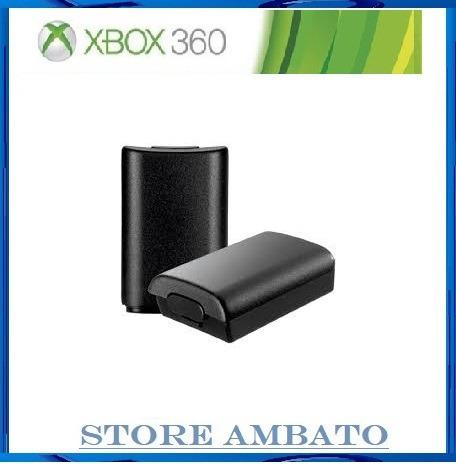 portapilas xbox 360 color negro
