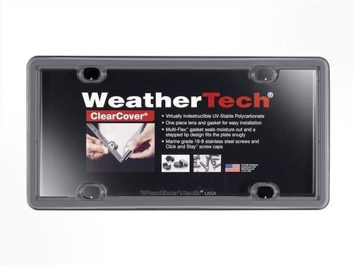 portaplacas weathertech clearcover varios colores