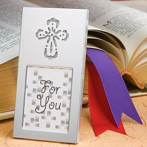 portaretrato cruz detalle bautizo confirmación 1era comunión