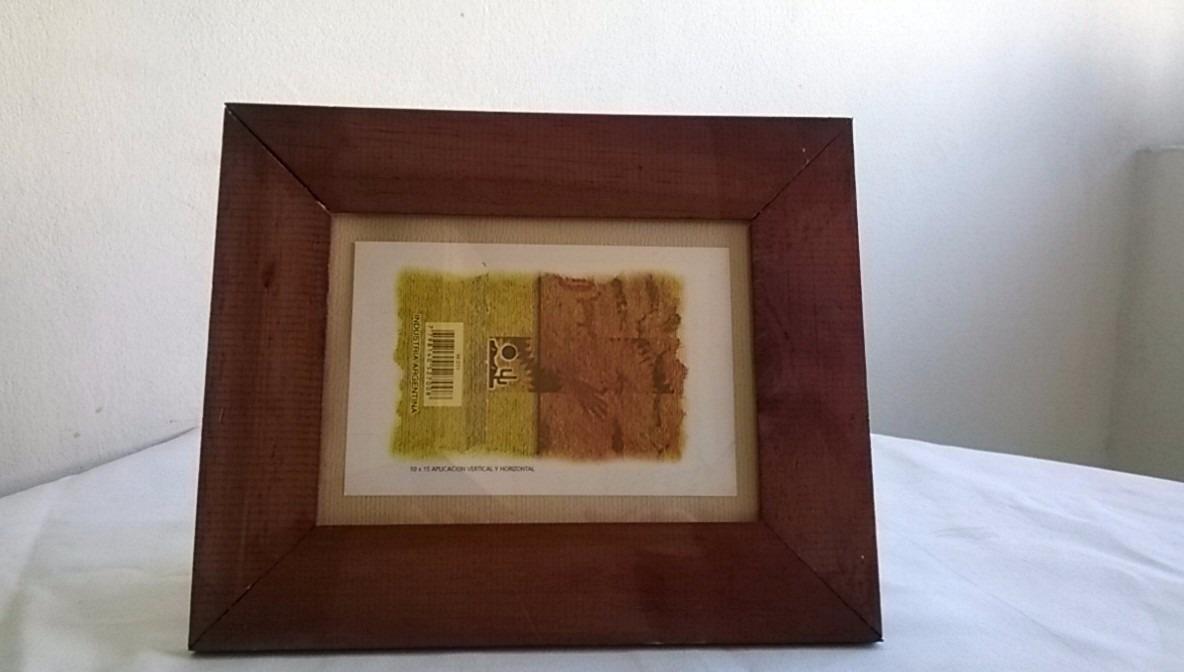 Portaretrato De Madera Marco Ancho 13x18 - $ 37,00 en Mercado Libre
