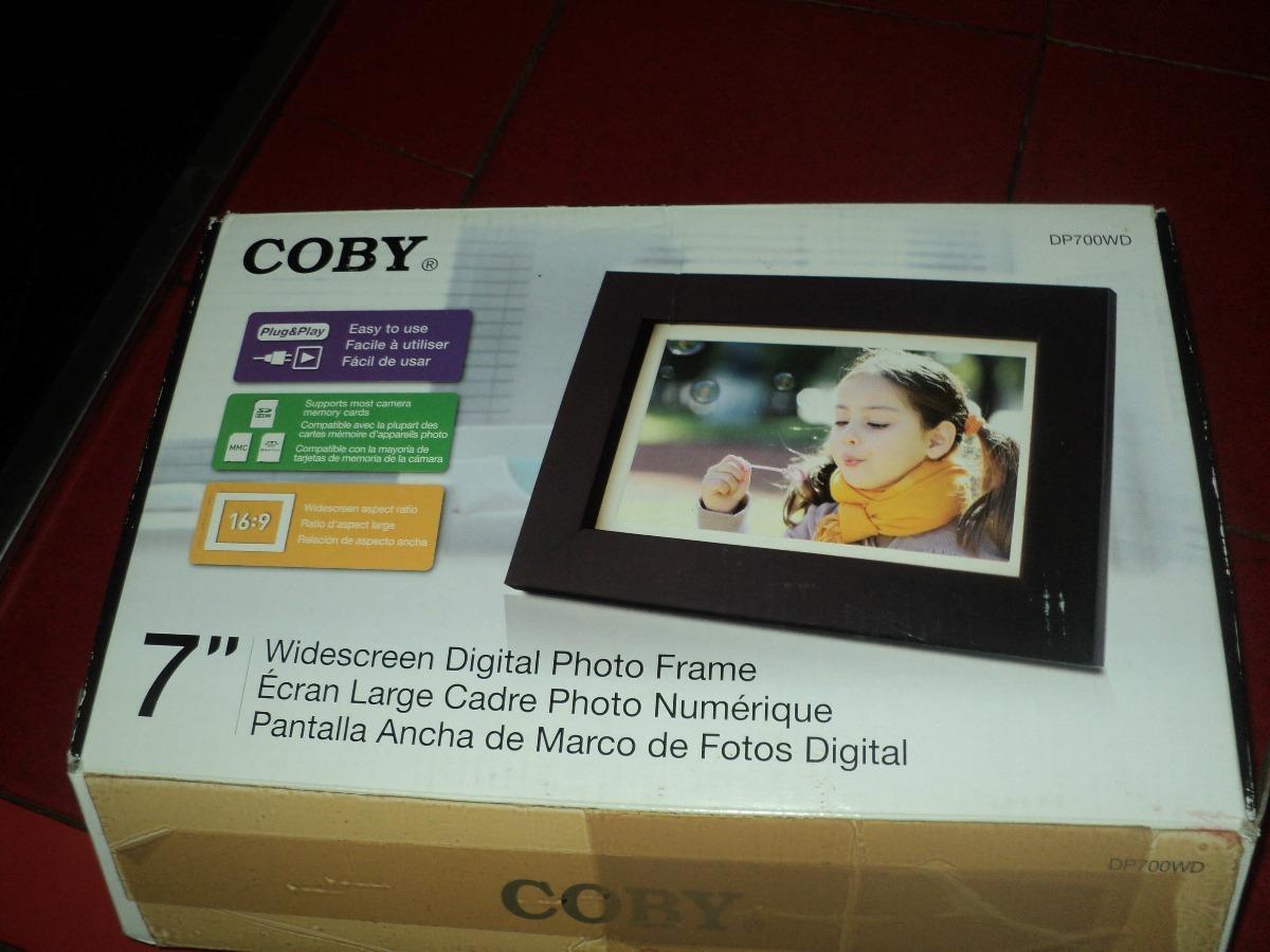 Portaretrato Digital Coby 7 Pulgadas - Bs. 50.000,00 en Mercado Libre