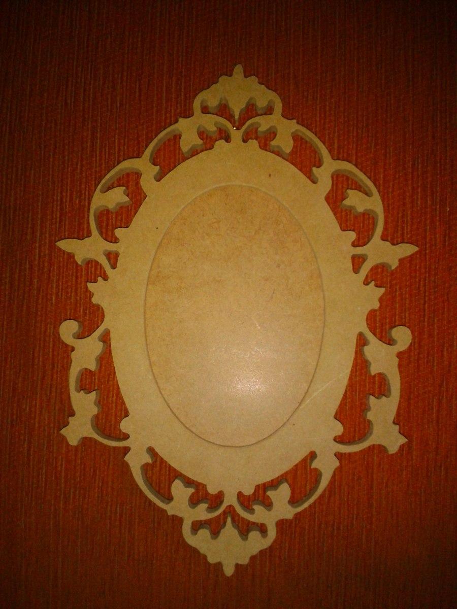 Portaretrato O Marco De Espejo Decorativo En Mdf Crudo - Bs. 657,79 ...