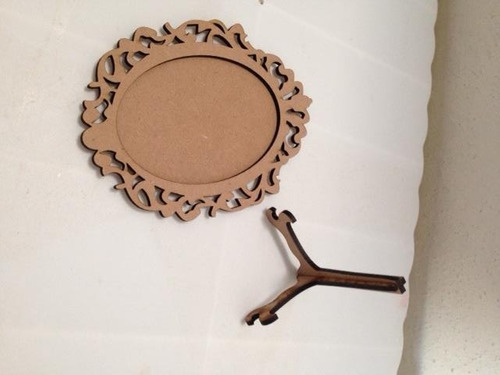 portaretrato ovalado vintage 15 cm