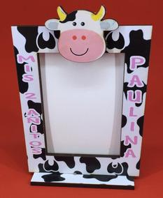 30 Portaretrato Souvenirs Cumple Vaca Lola