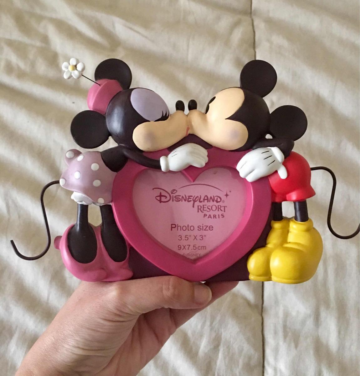 Portaretratos Cuadro Marco Mickey Y Minnie. Disney Original ...
