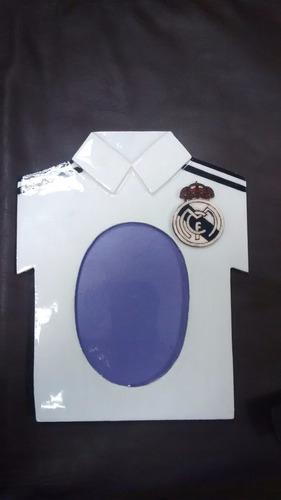 portaretratos de camisetas de futbol (sc, u, al y mas).