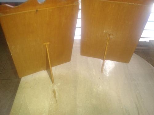 portaretratos de madera