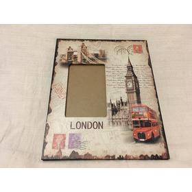 Portaretratos Fotos Con Pie Temático Londres