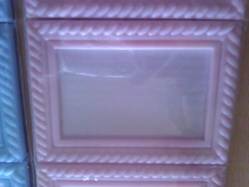 portaretratos para souvenir de plastico 8,5 x 6 cm