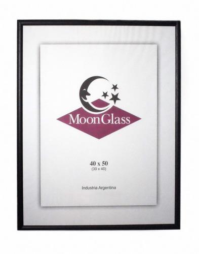portarretrato 40x50 cm de madera con vidrio - moon glass